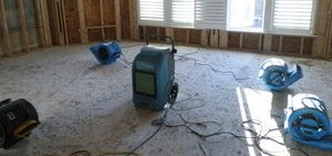 Water Damage Remediation In A Commercial Building