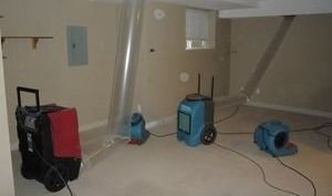 Water Damage East Garden City Restoraiton Vacuuming Attic