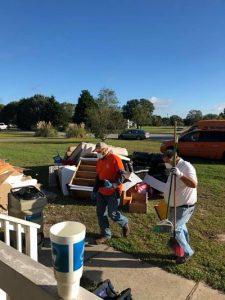 Technicians Conducting Property Renovations After a Flood
